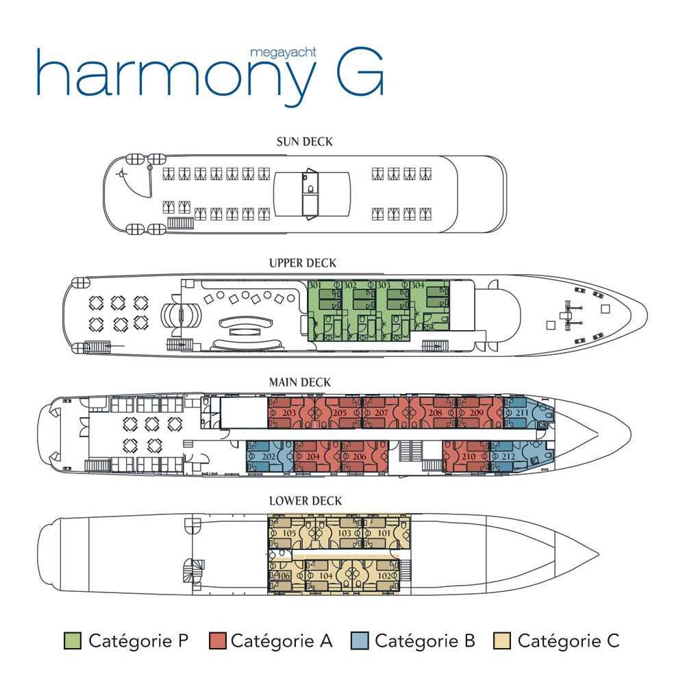 HARMONY G DP numbered